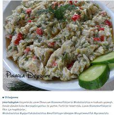 Sehriyeli kabak salatası