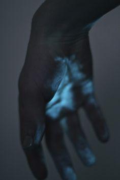 Blue-ish.