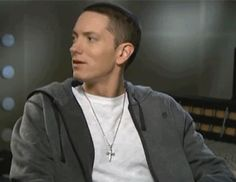 cutest little smile Eminem..