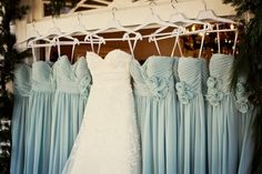 beautiful color for bridesmaid dresses