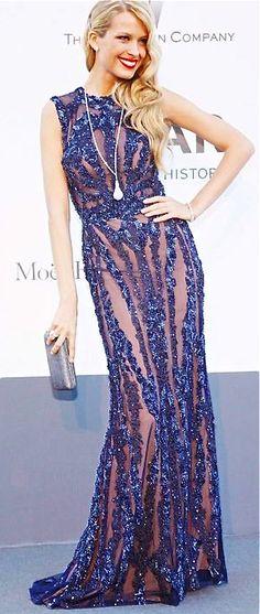 Elie Saab blue  gown
