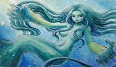 Rusalka Slavic folklore is between an evil demon and a water nymph that comes in a female form.They live at the bottom of rivers or lakes and falsely considered to be mermaids, not mermaids but the spirits of dead women who have committed suicide over an unsuccessful love affair and are now after the whole of mankind seeking revenge. They come out during the night and sing with beautiful/deceptive voices paired with entrancing and seductive dancing to seduce men to their watery grave