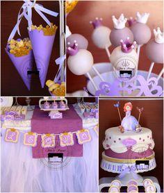 Sofia the First Princess Party via Kara's Party Ideas #PrincessParty #SofiaTheFirst #PartyIdeas (1)