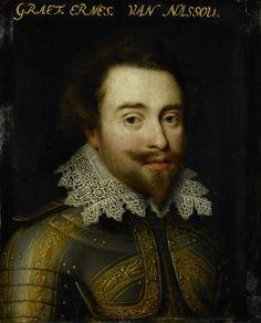 Workshop of Jan Anthonisz. van Ravesteyn, Portrait of Johan Ernst I (1582-1617), graaf van Nassau-Siegen, ca. 1609-1633, Rijksmuseum Amsterdam (SK-A-531)