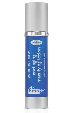 pores no more anti-aging mattifying lotion  Dr. Brandt's Pores No More Anti-Aging Mattifying Lotion - fast absorbing, oil-free, anti-aging lotion with apple stem cells