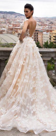 Wedding Dress by Milla Nova White Desire 2017 Bridal Collection - Bella