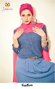 Jasmin casual hijab fashion | Just Trendy Girls