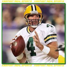 Happy Birthday: Brett Favre  October 10, 1969 - Brett Lorenzo Favre is a former American football quarterback who spent the majority of his career with the Green Bay Packers of the National Football League (NFL).
