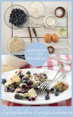 http://eatsmarter.de/rezepte/haferflocken-kaiserschmarrn Dank Haferflocken wird der Kaiserschmarrn smart. Heidelbeeren verfeinern die süße Hauptspeise oder das Dessert.