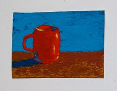 The Morning Cup of Coffee 61 ARTIST TRADING CARDS by MikeKrausArt