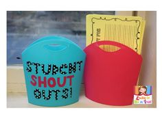 Student Shout Outs! Build classroom community by complimenting each other!