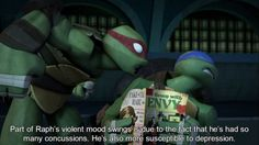 Ok! I gots a confession to make........ I CAN'T CHOOSE BETWEEN LEO AND RAPH