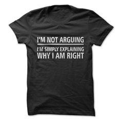 Not Arguing - 1