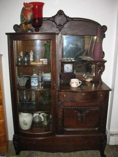 Image detail for -Antique Victorian china cabinet for sale in Halifax, Nova Scotia ...