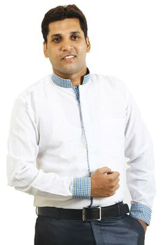 Buy Designer & Branded SIERA White and Green Cotton Party Wear Shirts Online For Men Lowest Prices only on GetAbhi.com http://tinyurl.com/hk5elmz
