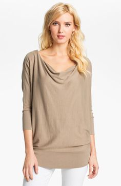 MICHAEL Michael Kors Zip Shoulder Sweater available at #Nordstrom