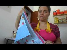 Aprenda como fazer uma linda bolsa de mão - YouTube