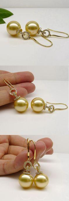 PEARLFECION                                                     south sea earrings