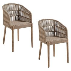 Enjoy outdoor entertaining with the UV-stabilised finish of the strong and durable Florencio Dining Armchair (Set of from Vida & Co. Outdoor Chairs, Outdoor Furniture, Outdoor Decor, Three Birds Renovations, Timber Deck, Living On The Edge, Dining Arm Chair, Dining Room, Pine Floors