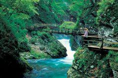Vintgar Gorge, Slovenia. A magical place 30 minutes from Chalet Lenart.