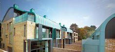 Alison Brooks Architects _ Cambridge _ Accordia _ Sky Villas _ Photo Back Curves