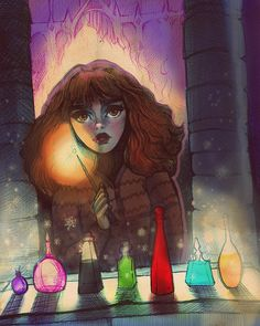 The potion challenge from sorcerers stone (still sad it didn' Harry Potter Part 2, Harry Potter Friends, Harry Potter Books, Harry Potter Fan Art, Harry Potter Universal, Harry Potter World, Lord Voldemort, Hermione Granger, Fantastic Beasts