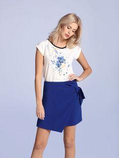 Top Secret S027580 Blue Skirt