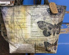 #8 Artist Tote/Crop Bag - love these Tim Holtz totes!