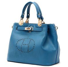 Retro style geuniue cow Leather tote Handbag