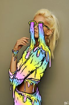 Kawaii grime-o-vision +:) deladeso.com #art