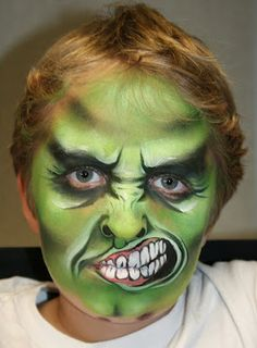 Hulk Mark Reid-- one of my favorite facepainters