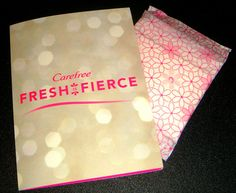 Carefree® Acti-Fresh® #FreshIsFierce #Influenster  I received them complimentary from @influenster for testing purposes.