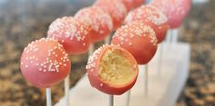 Starbucks Birthday Cake Pops Recipe. Ingredients: 1 18¼-ounce box white cake mix (such as Betty Crocker or Duncan Hines), 1¼ cups water, ⅓ cup vegetable...