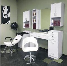 kapsalon Jmo Deluxe Salon Suite - Asti Salon Supply Identification of good quality garden Home Beauty Salon, Home Hair Salons, Hair Salon Interior, Beauty Salon Decor, In Home Salon, At Home Salon Station, Beauty Salons, Small Beauty Salon Ideas, Design Salon