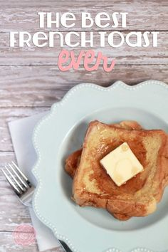 This looks delicious! The best french toast recipe EVER at Sweet Rose Studio #recipe #FrenchToast #Yum