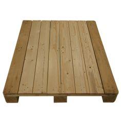 Houten pallet  voor palletbox palletopzetwanden met hardhouten buitenste planken 1