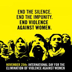Today is International Day for the Elimination of Violence against Women. Every woman has the right to live free from violence. End Violence Against Women! Today also marks the start of the 16 Days of Activism Against Gender Violence campaign. See how you can get involved > http://amn.st/6498BRAun
