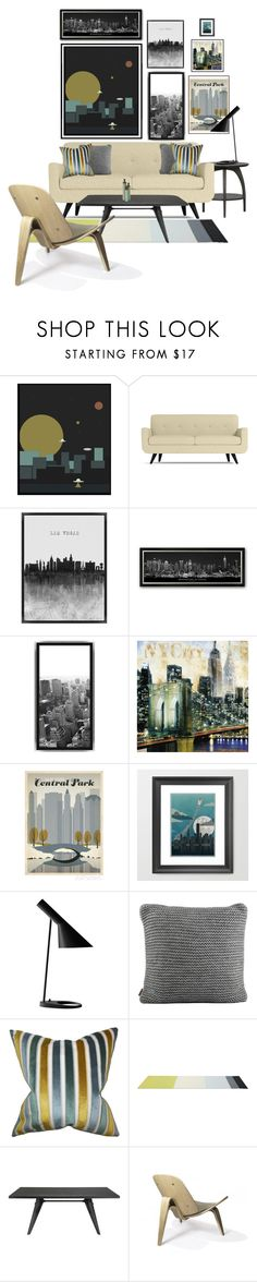 City Invasion by she-kills-monsters on Polyvore featuring interior, interiors, interior design, home, home decor, interior decorating, Steel   Lark, Louis Poulsen, Olsson and UGG Australia