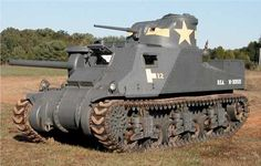 "U.S. M3 ""Lee"" Medium Tank. WW2."