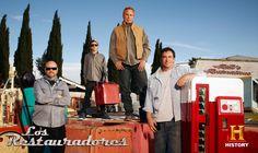 Kowboy, Tyler, Rick y Ron, los cuatro fantásticos de la restauración.