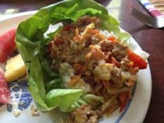 These lettuce wraps are a perfect and quick idea for a spontaneous special occasion.