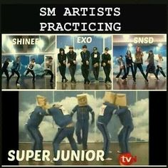 Thats why they are the LAST MAN STANDING. Suju being Dorky is completely a normal thing.