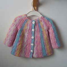 Little Jamboree Free Cardi Knit Pattern for Baby