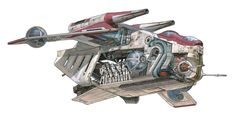 Star Wars Clone Ships | Cortes Tecnicos : Star Wars
