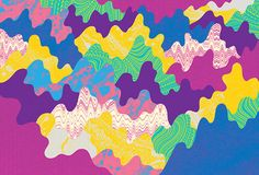 Illustration: bold, brash patterns and pictures from Finland's Antti Uotila