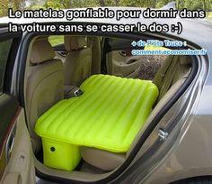Produit Malin : Le Matelas Gonflable Pour Dormir Dans la Voiture SANS Se Casser le Dos.