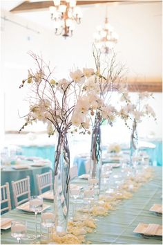 Tall Wedding Centrepieces we ❤ this! moncheribridals.com #weddingcenterpiece #talweddinglcenterpiece