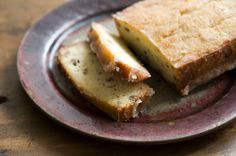 Lemon bread, from the Homesick . It's a tender buttery loaf studded with lemon zest and pecans, though it's the crisp, sweet, and tart glaze that takes this loaf over the top.Texan