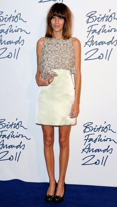 Alexa Chung - The 2011 British Fashion Awards