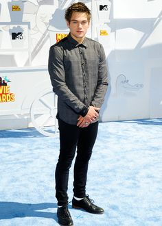 Dylan Sprayberry attends The 2015 MTV Movie Awards at Nokia Theatre L. Live on April 2015 in Los Angeles, California. Sexy Men, Sexy Guys, Hot Men, Dylan Sprayberry, Teen Wolf Cast, Mtv Movie Awards, Fine Boys, Dylan O'brien, Interesting Faces
